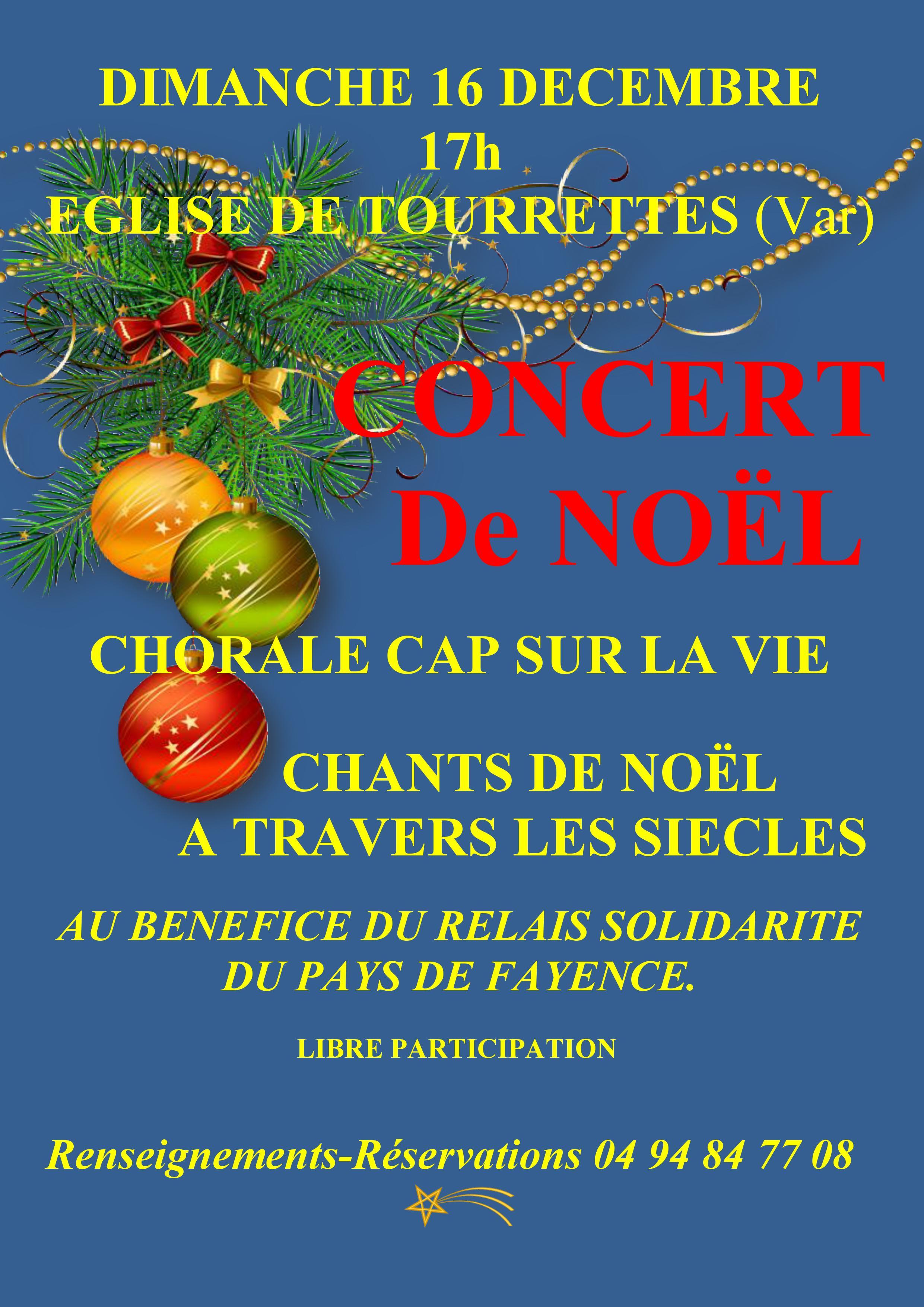 Concert Noel 2018 - Affiche