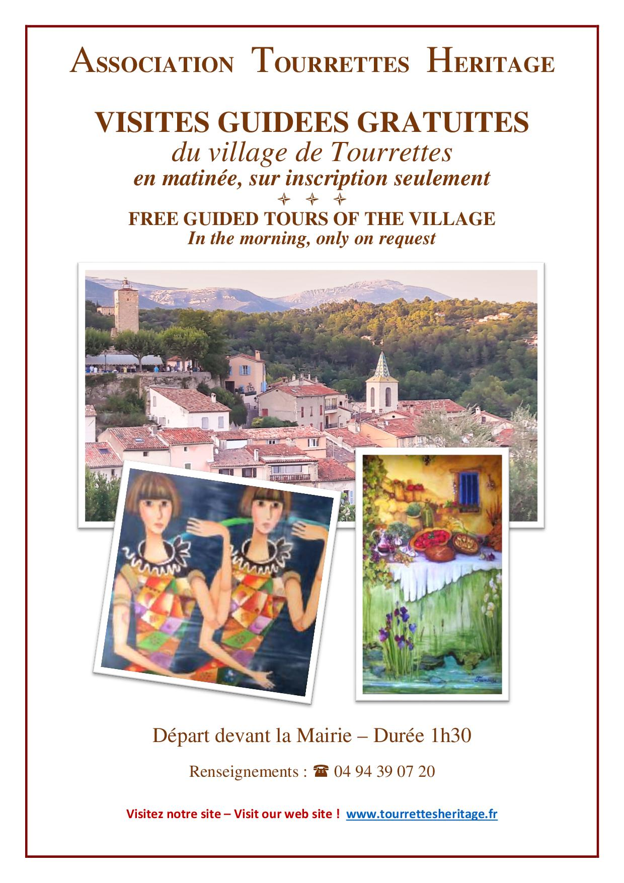 Visite guidée du Village !