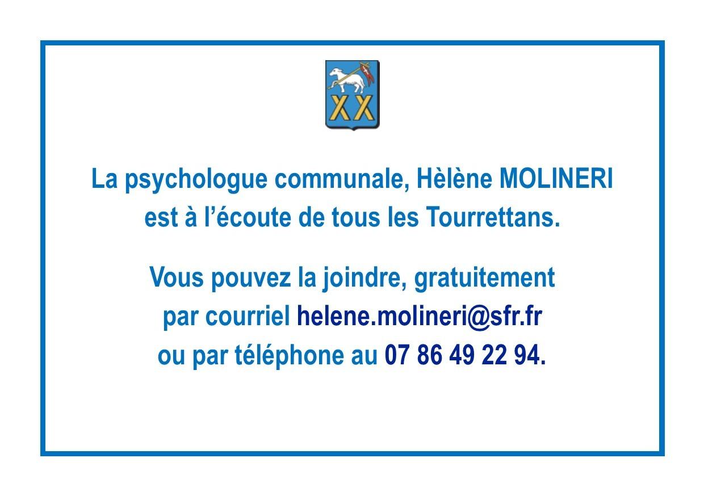 Assistance et soutien pour les Tourrettans par la Psychologue Communale